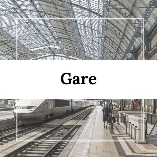 Gare à Villarodin-Bourget