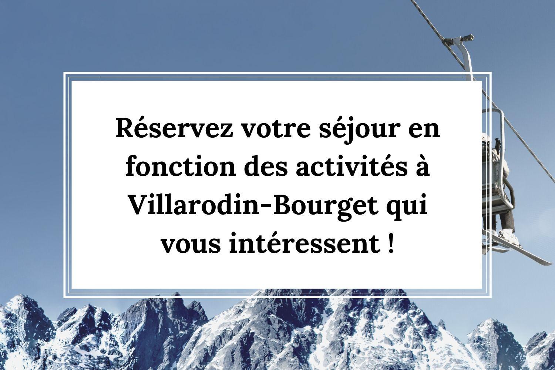 Que faire à Villarodin-Bourget