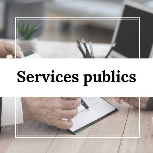 Services publics à Villarodin-Bourget